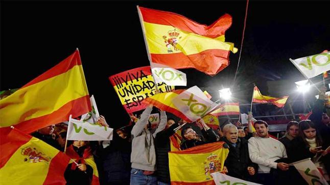 التقدم الكبير لليمين المتطرف في انتخابات إسبانيا يقلق الجالية المغربية وسلطات الرباط