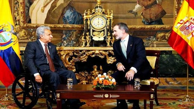 ملك إسبانيا ينوي زيارة مليلية المغربية المحتلة أسوة بوالده