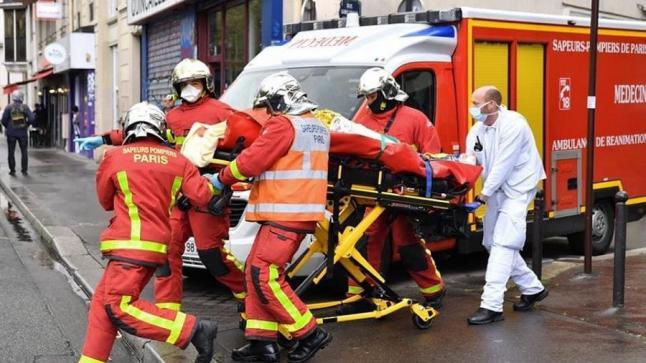 """فرنسا.. إصابات طعناً قرب مقر صحيفة """"شارلي إيبدو"""""""