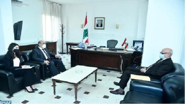 وزير الخارجية اللبناني يعبر عن شكره للمغرب لجهوده الرامية إلى مساعدة الشعب الليبي على تجاوز أزمته