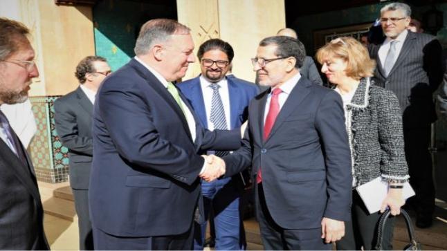 هل ألغيَ لقاء محمد السادس مع وزير الخارجية الأمريكي بسبب سعيه للتطبيع بين إسرائيل والرباط؟