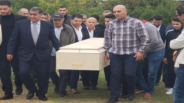 جثمان الطيارة المغربية هند بارش يوارى الثرى في مدينة لافال بكندا