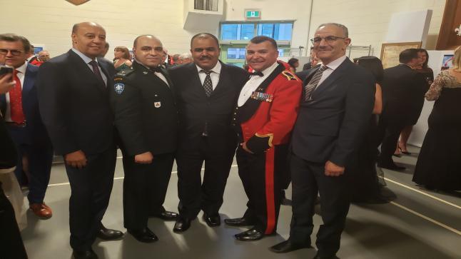 جريدة الصحافة تتلقى دعوة كريمة من المؤسسة العسكرية بكندا لحضور حفل على شرف الجنرال دي سوسة