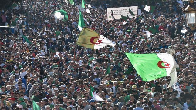 الجزائر.. مظاهرات حاشدة في الجمعة الـ37 تزامنا مع عيد الثورة