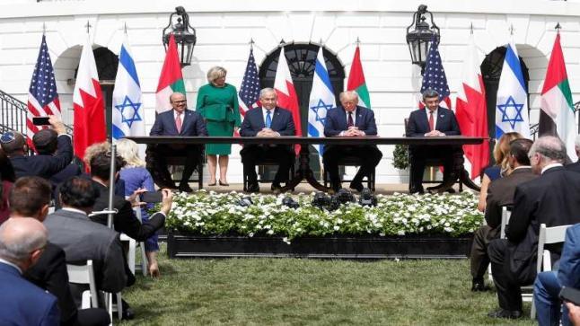 مع وعود بانضمام دول أخرى.. ترامب يرعى توقيع اتفاق التطبيع بين الإمارات والبحرين وإسرائيل