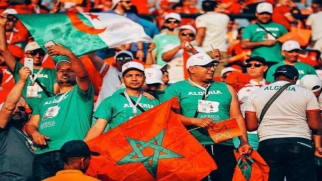 """""""خاوة خاوة"""" بين المغرب والجزائر.. الكرة تصلح ما أفسدته السياسة"""