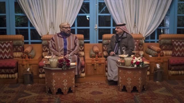 محمد السادس يلتقي مع ملك البحرين بالرباط