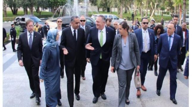 رئيس الدبلوماسية الأمريكية بومبيو.. كواليس نصف زيارة للمغرب وتعبئة مضاعفة!!
