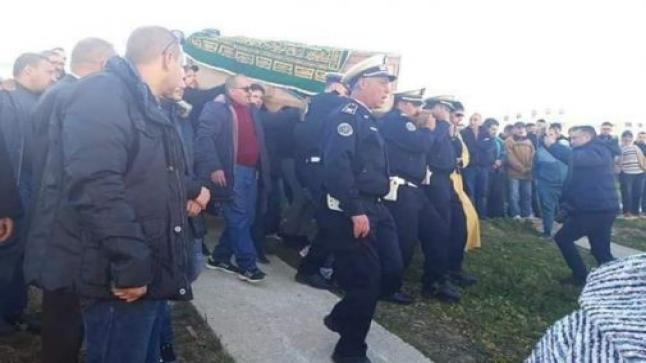 ترقية استثنائية لموظف شرطة استشهد أثناء أداء الواجب المهني