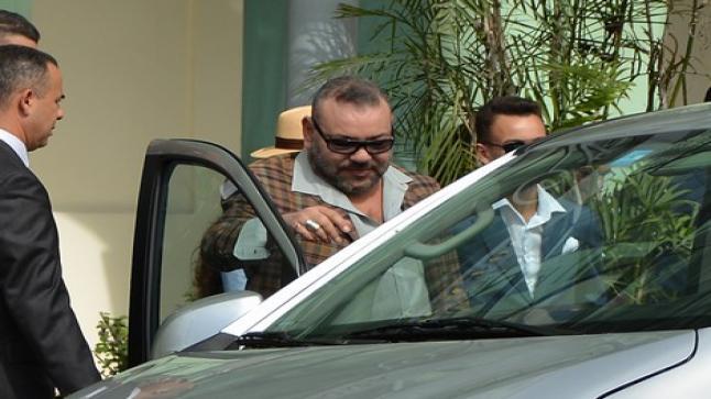 الملك محمد السادس يحل بالصخيرات لقضاء عطلته الصّيفية