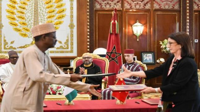 نيجيريا تصدّر الغاز إلى أوروبا عبر أنبوب يمر بالمغرب