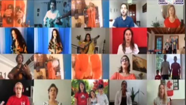 """جريدة الصحافة الإلكترونية تحتفل بالعيد الوطني لكندا في برنامج """"عدراوي لايف"""""""