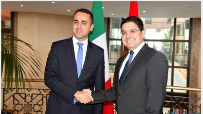 لويجي دي مايو يعرب عن تقدير روما لدور المغرب في حل الأزمة الليبية
