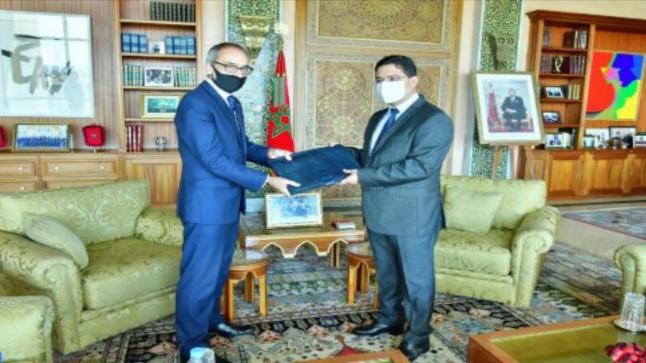 السيد بوريطة يستقبل السفير الجديد للمملكة المتحدة بالمغرب