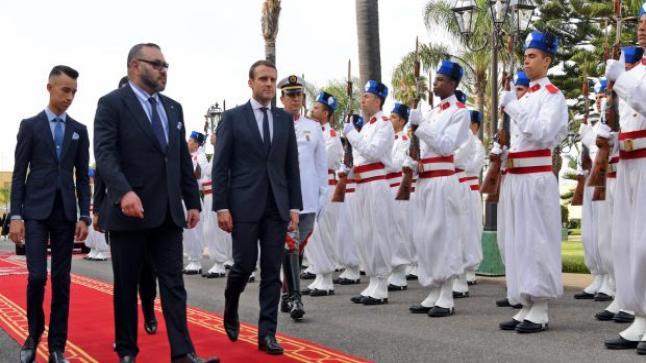 مصدر دبلوماسي يكشف تاريخ زيارة الرئيس الفرنسي للمغرب