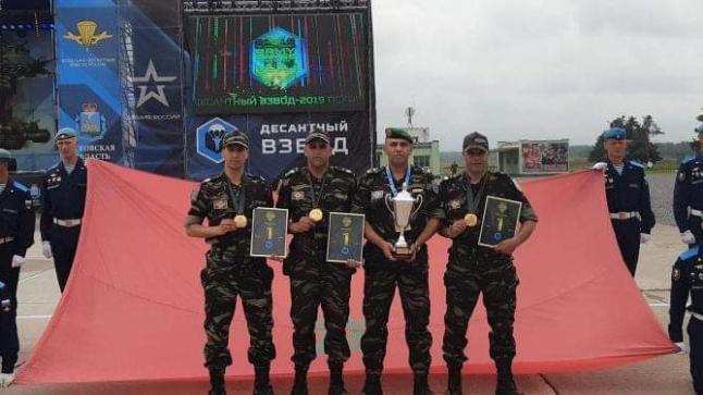 فرقة تابعة للقوات المسلحة الملكية تتصدر الألعاب الدولية العسكرية