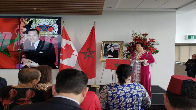 سفارة المغرب بأوتاوا تحتفل بعيد العرش