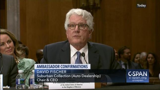 هكذا يُماطل مجلس الشيوخ في التأشير على السفير الأمريكي بالرباط